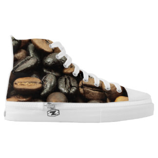 Whole Bean Coffee High-Top Sneakers