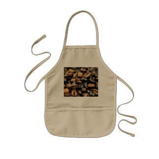 Whole Bean Coffee Kids' Apron