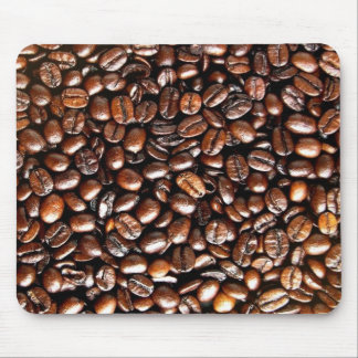 Whole Bean Coffee Pattern Mouse Pad