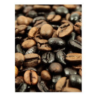 Whole Bean Coffee Postcard