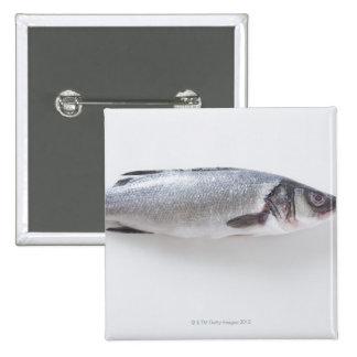 Whole branzini fish buttons
