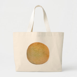 Whole Cantaloupe Melon Large Tote Bag