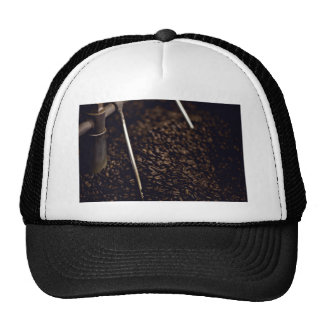 Whole coffee beans trucker hat