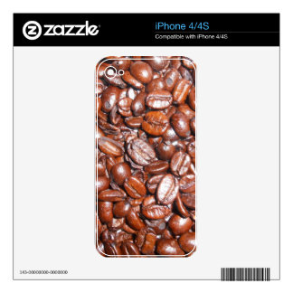 Whole Coffee Beans Skins For The iPhone 4