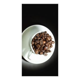 Whole coffee card
