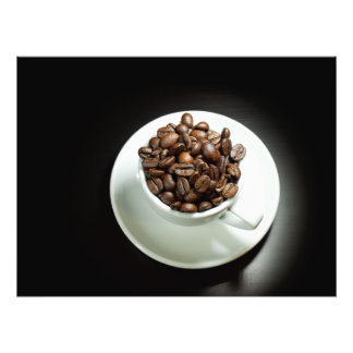 Whole coffee photograph