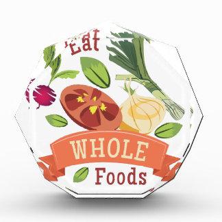 Whole Foods Acrylic Award