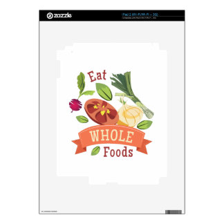 Whole Foods Decal For The iPad 2