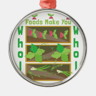 Whole Foods Metal Ornament