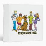 Whole Gang 12 Mystery Inc Binder