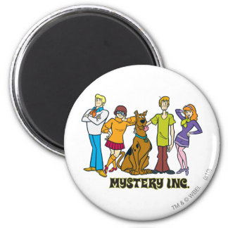 Whole Gang 12 Mystery Inc Magnets
