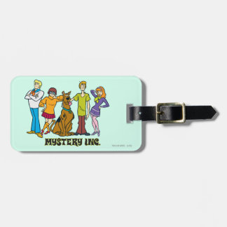 Whole Gang 12 Mystery Inc Tag For Luggage