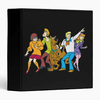 Whole Gang 13 Mystery Inc 3 Ring Binder