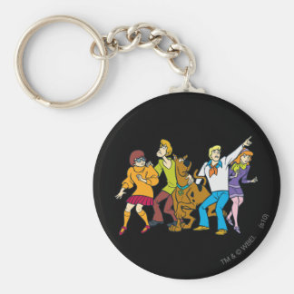 Whole Gang 13 Mystery Inc Keychain