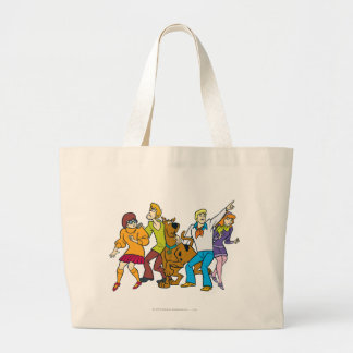 Whole Gang 13 Mystery Inc Large Tote Bag