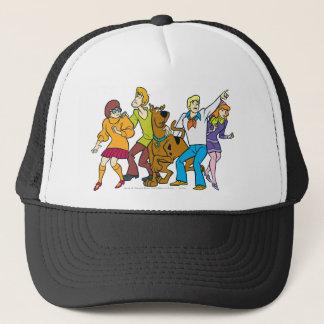 Whole Gang 13 Mystery Inc Trucker Hat