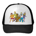 Whole Gang 13 Mystery Inc Trucker Hat