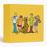 Whole Gang 14 Mystery Inc 3 Ring Binder