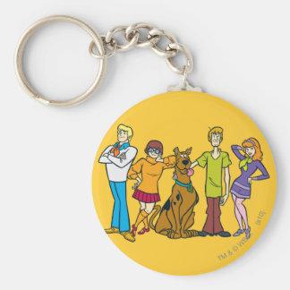 Whole Gang 14 Mystery Inc Keychain