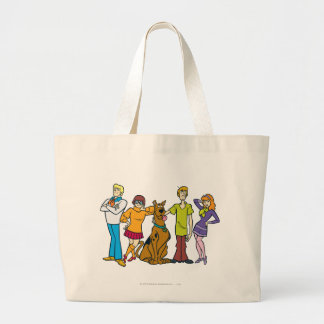 Whole Gang 14 Mystery Inc Large Tote Bag