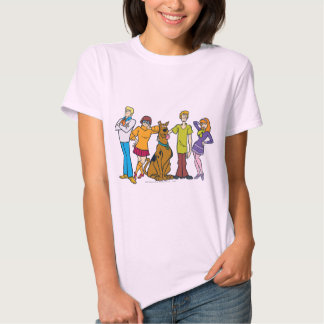Whole Gang 14 Mystery Inc T Shirt