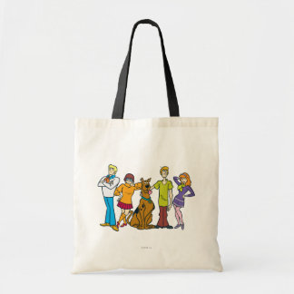 Whole Gang 14 Mystery Inc Tote Bag