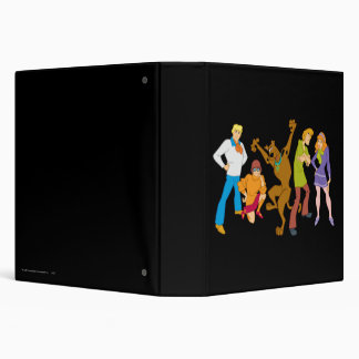 Whole Gang 16 Mystery Inc Binder