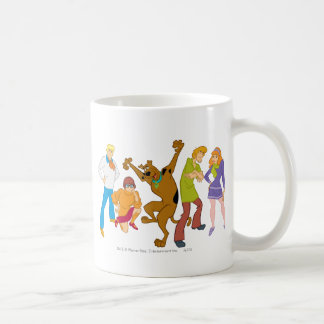 Whole Gang 16 Mystery Inc Coffee Mug