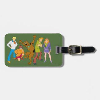 Whole Gang 16 Mystery Inc Luggage Tag