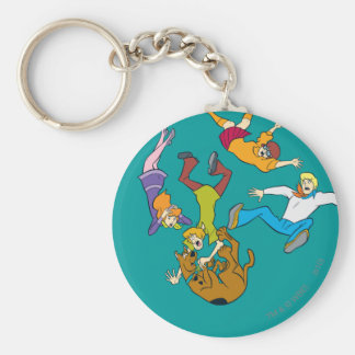 Whole Gang 17 Mystery Inc Keychain