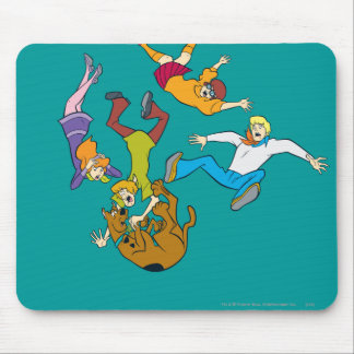 Whole Gang 17 Mystery Inc Mouse Pad