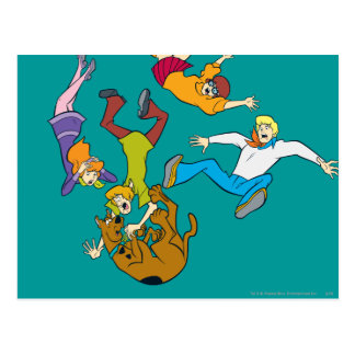 Whole Gang 17 Mystery Inc Postcards