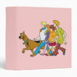 Whole Gang 18 Mystery Inc 3 Ring Binder