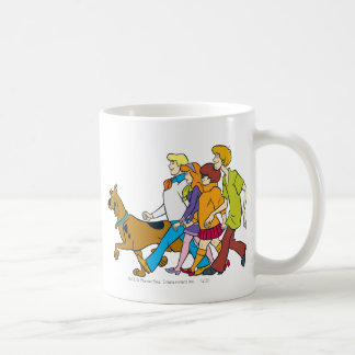 Whole Gang 18 Mystery Inc Coffee Mug