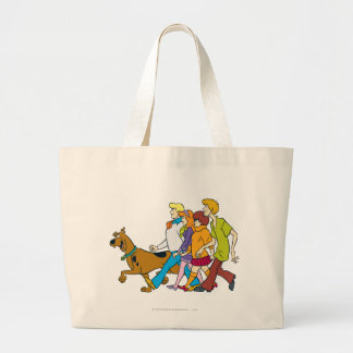 Whole Gang 18 Mystery Inc Large Tote Bag