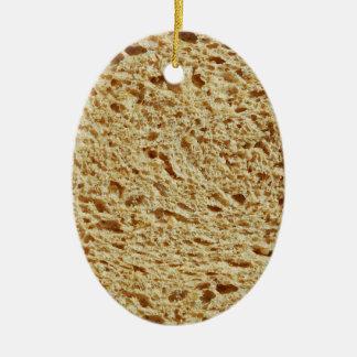 Whole Grain Bread Ceramic Ornament