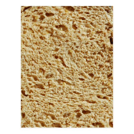 Whole Grain Bread Postcard
