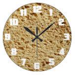 Whole Grain Bread Round Wall Clock