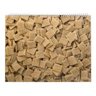 Whole grain cereals calendars