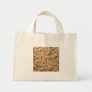 Whole grain cereals mini tote bag