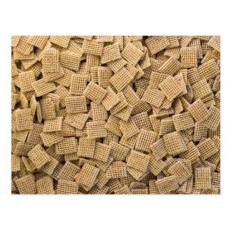 Whole grain cereals postcard