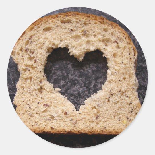 Whole grain love - stickers