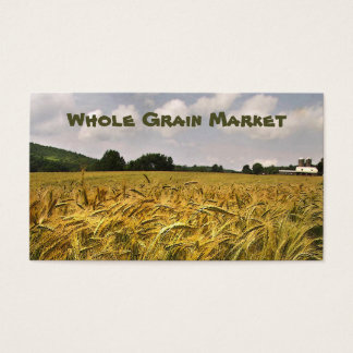 Whole Grain Market Business Card