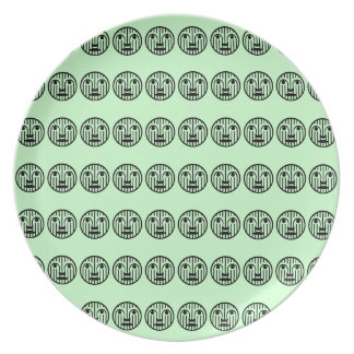 Whole Lot of Faces Dinner Plate