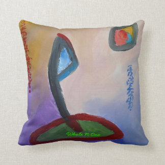 Whole N One Throw Pillow