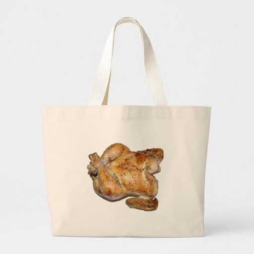 Whole Roast Chicken Canvas Bag