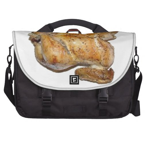 Whole Roast Chicken Laptop Messenger Bag