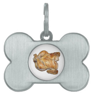 Whole Roast Chicken Pet Tag