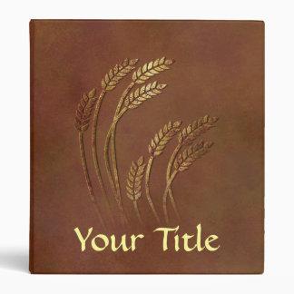 Whole Wheat 3 Ring Binders