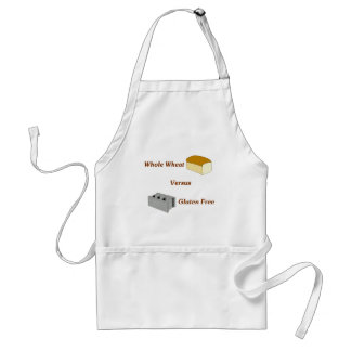 Whole Wheat Versus Gluten Free Adult Apron